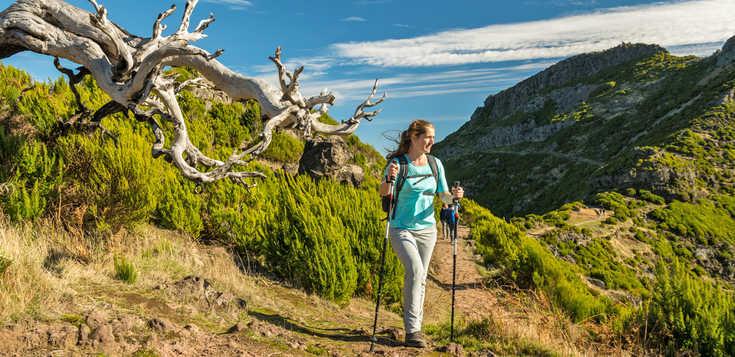 Berg- und Levada-Wandern