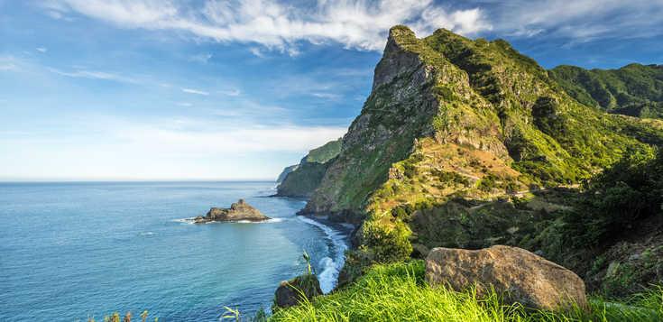 An der Sonnenspitze Madeiras