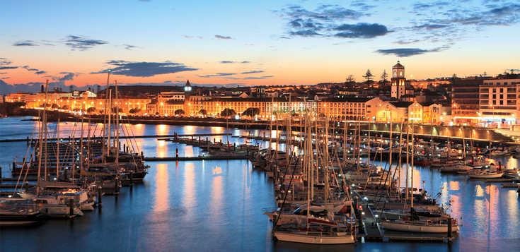 Feliz ano novo auf den Azoren!