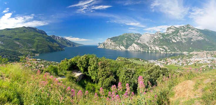 Wanderwoche mit Traumblick - der Gardasee