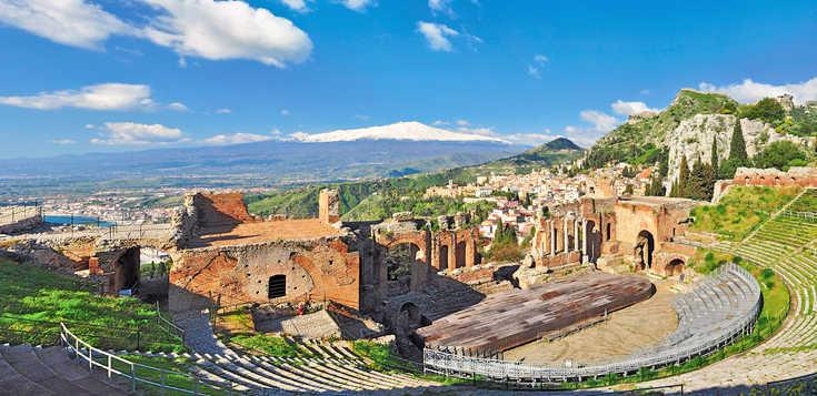 Sizilien: Silvester am Fuße des Ätna