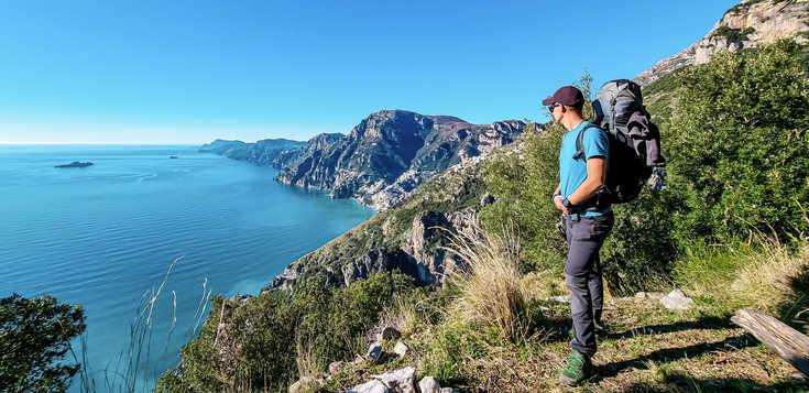Hoch über der Küste - der Amalfi-Panoramaweg