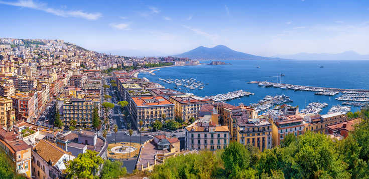 Neapel - Frühling liegt in der Luft