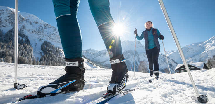 Im Langlauf-Mekka der Dolomiten