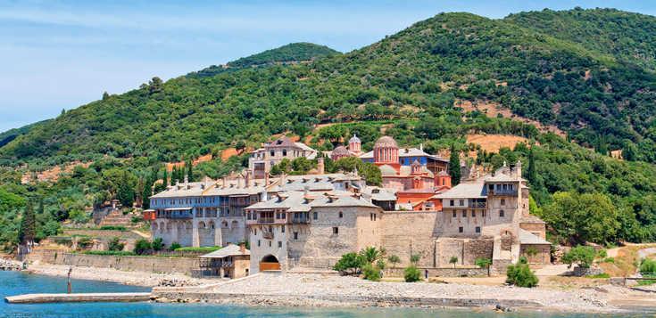 Chalkidiki - Klöster und Berge im Meer