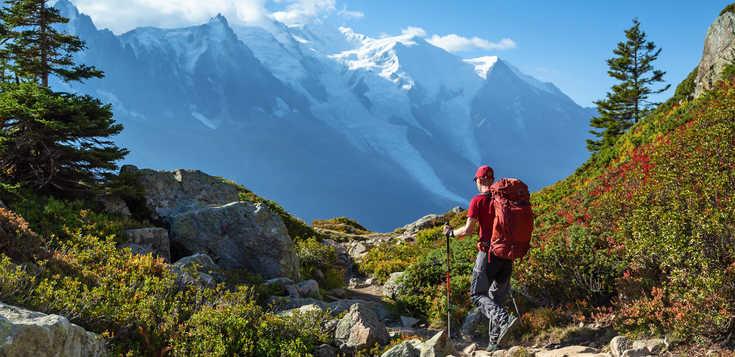 Der Mont-Blanc-Rundweg