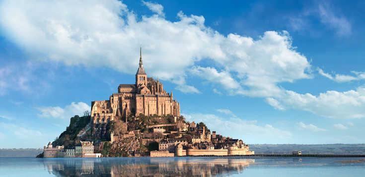 Wilde Küsten, viel Kultur - Normandie und Bretagne