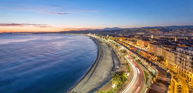 Bonne année in Nizza
