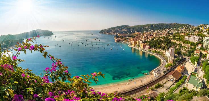 Rund um Nizza - lebendige Côte d`Azur