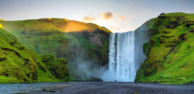 Island: Wasserfälle – Gletscher – Geysire