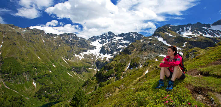 Österreich: Wandern am Dachsteinmassiv