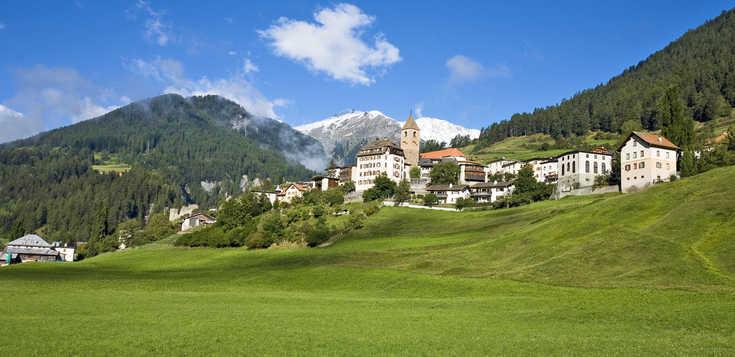Schweiz: Der Engadiner Höhenweg
