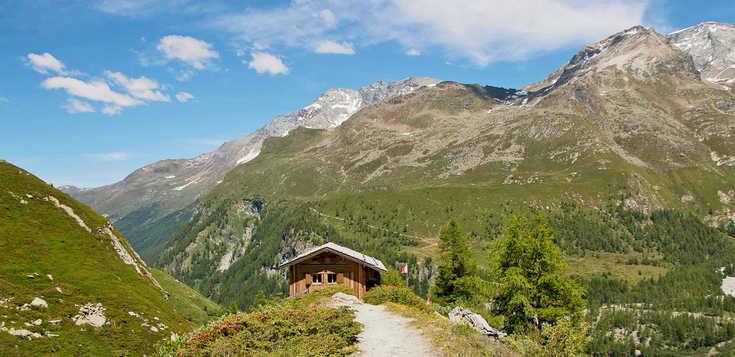 Schweiz: Wallis: im Val d` Anniviers - Le Grand Chalet Favre