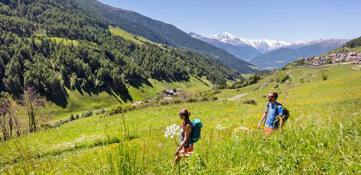 Italien - Südtirol: Wandervergnügen im Vinschgau