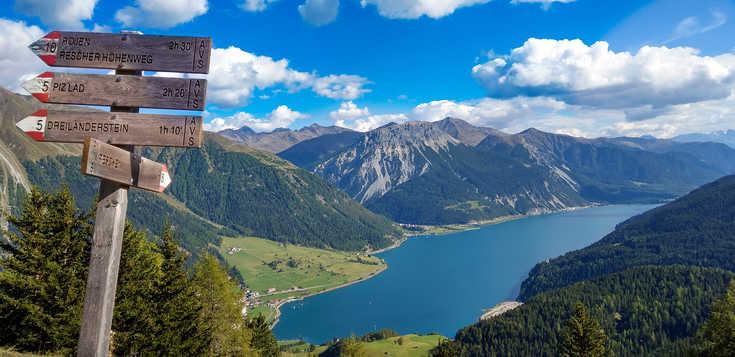 """Deutschland - Österreich - Italien: Von Garmisch nach Meran – Alpenüberquerung """"light"""""""