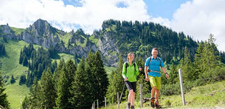 Deutschland: Gipfel und Almen im Oberallgäu