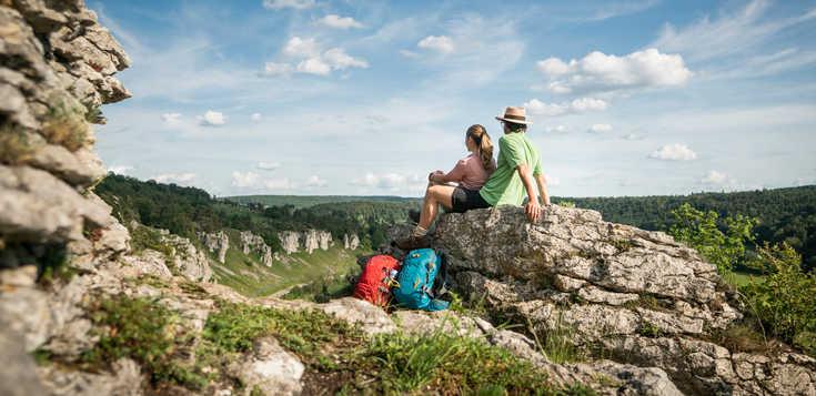 Deutschland: Der Panoramaweg überm Altmühltal