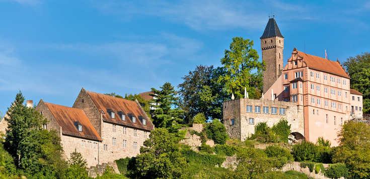 Deutschland: Burgromantik am Neckarsteig