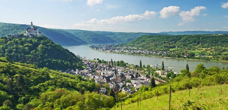 Deutschland: Rheinsteig: Burgen, Weinberge und kulinarische Genüsse