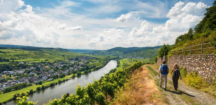 Deutschland: Mosel- & Eifelsteig: Traumblicke, Römerpfade & Moselweine