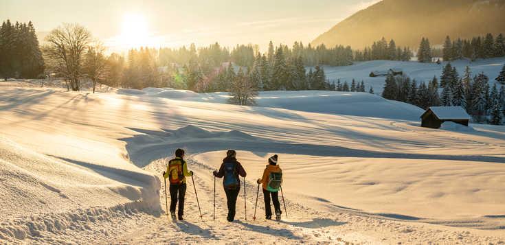Allgäuer Alpen: Deutschlands höchster Winterspaß