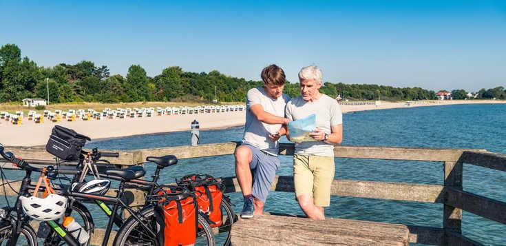 Deutschland: Ostseeküsten-Radweg: Lübeck – Stralsund