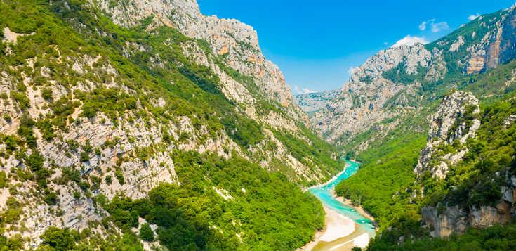 Frankreich: Der Grand Canyon des Verdon - La Bastide du Calalou