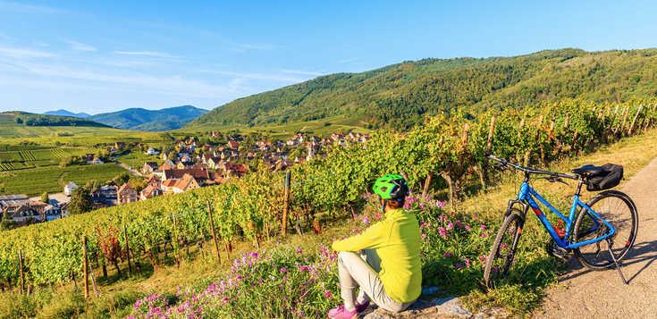 Frankreich: Elsass – Radeln mit Genuss