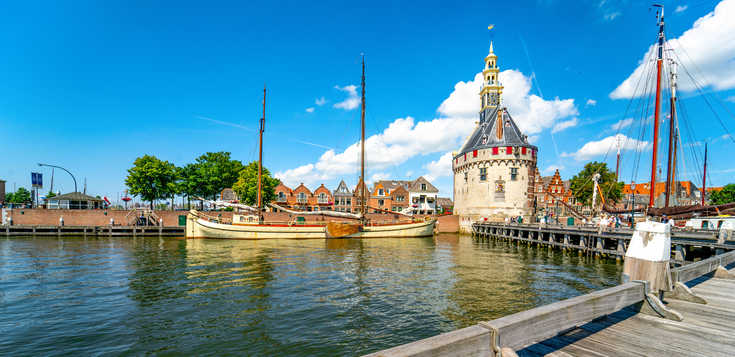 Nördliches Holland mit Rad und Schiff (MS Serena)