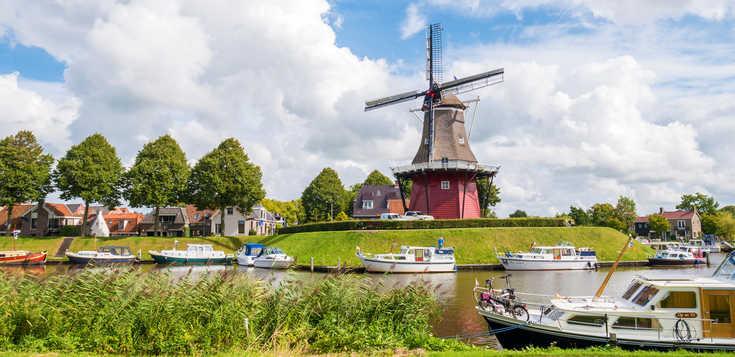 Niederlande: Weites Friesland - Radeln bis zum Horizont!