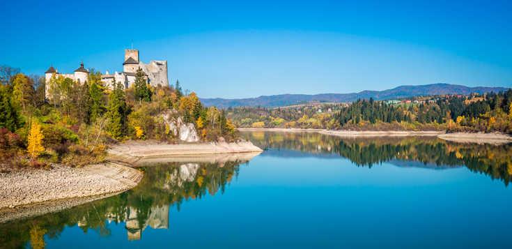 Polen: Der Dunajec-Radweg am Fuße der Hohen Tatra