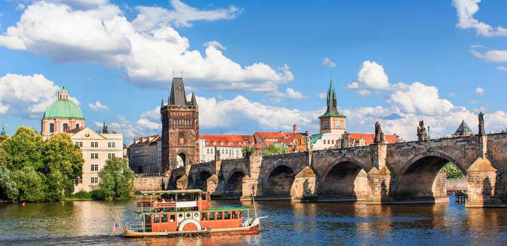 Zauberhafte Flusssinfonie - Moldau & Elbe