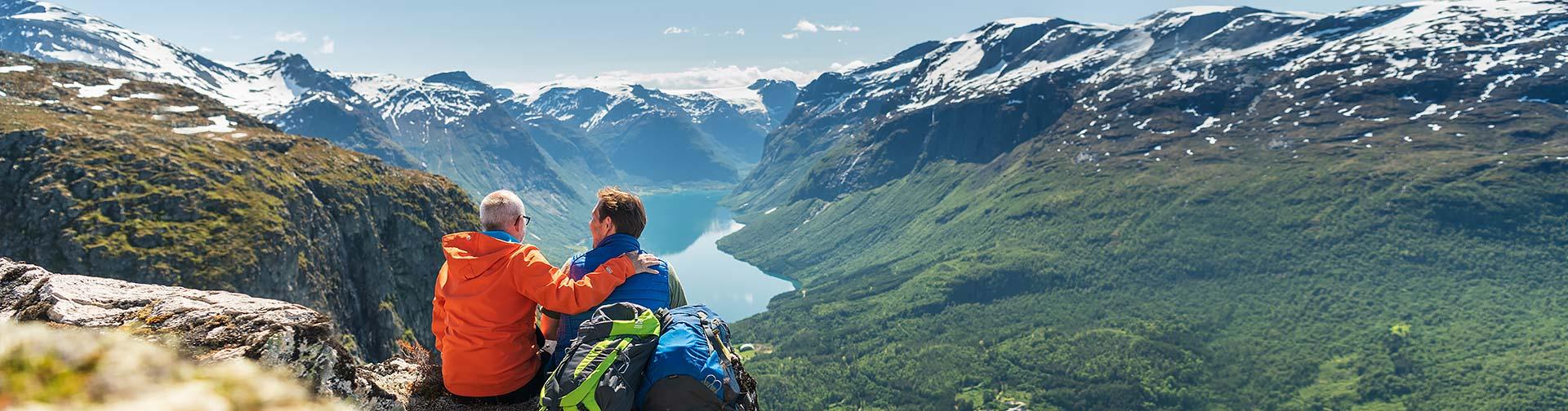 Wanderreisen Norwegen Lofoten Trekking Vesteralen