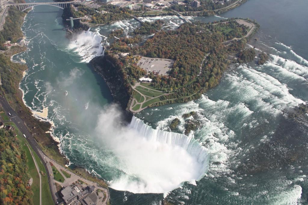 Niagara Fälle aus der Luft