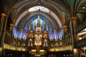 Notre Dame Basilika in Montreal
