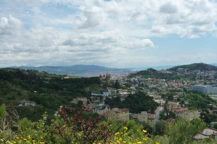 Blick vom Tibidabo