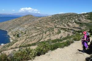 Wanderung auf der Isla del Sol