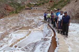 Wanderung in den Salzterrassen von Maras