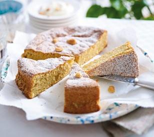 Gato-de-almendra-Mallorquinischer-Mandelkuchen