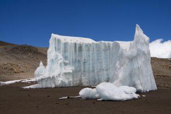 Der Gletscherrückgang ist nicht zu übersehen