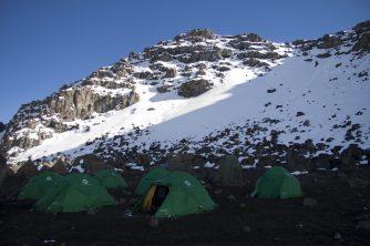 Unser Krater Camp
