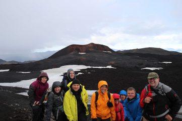 Gruppe am Eyafjallajölull