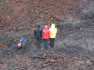 Wir sind Weltmeischder am Eyafjallajökull