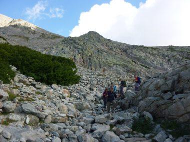 Wanderung entlang des Rapari-Pass