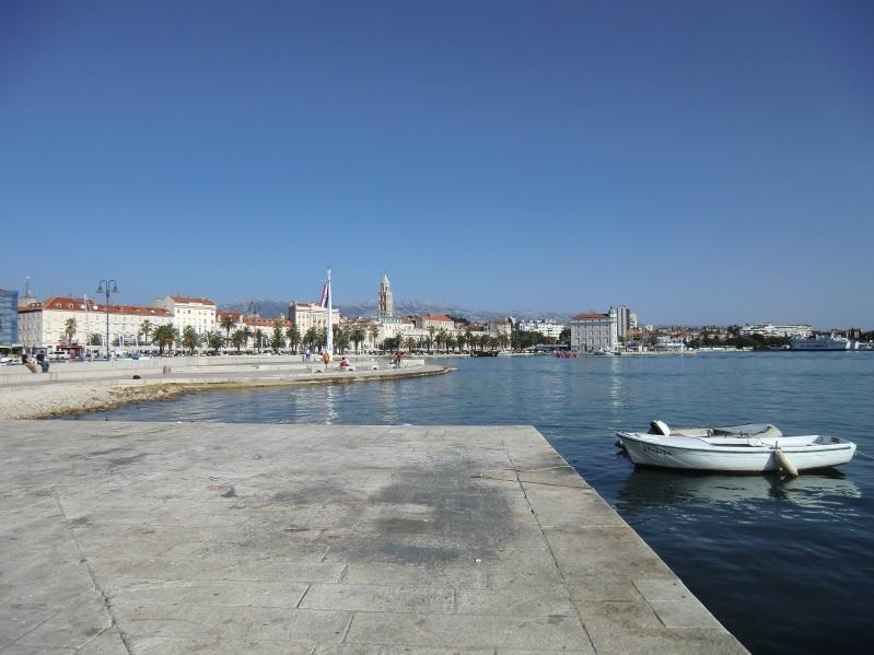Im Hafen von Split