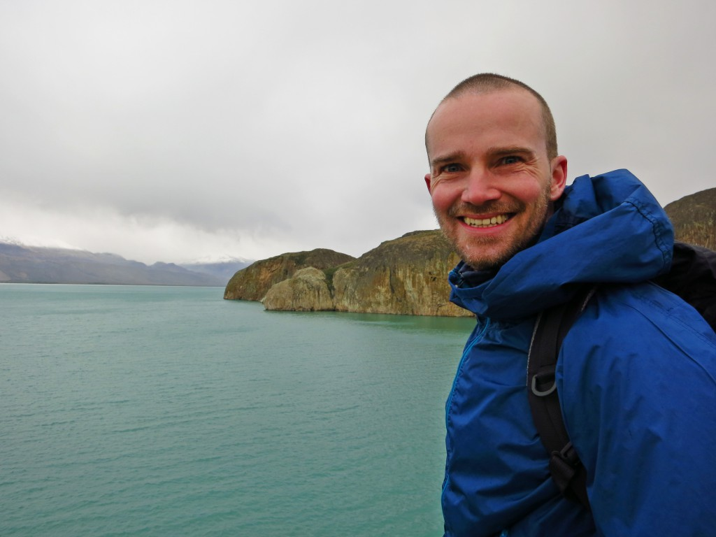 Erste Wanderung am Lago Posadas.