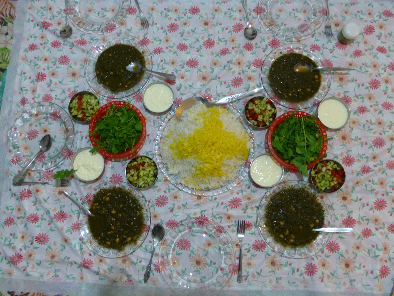 Abendessen bei Einheimischen