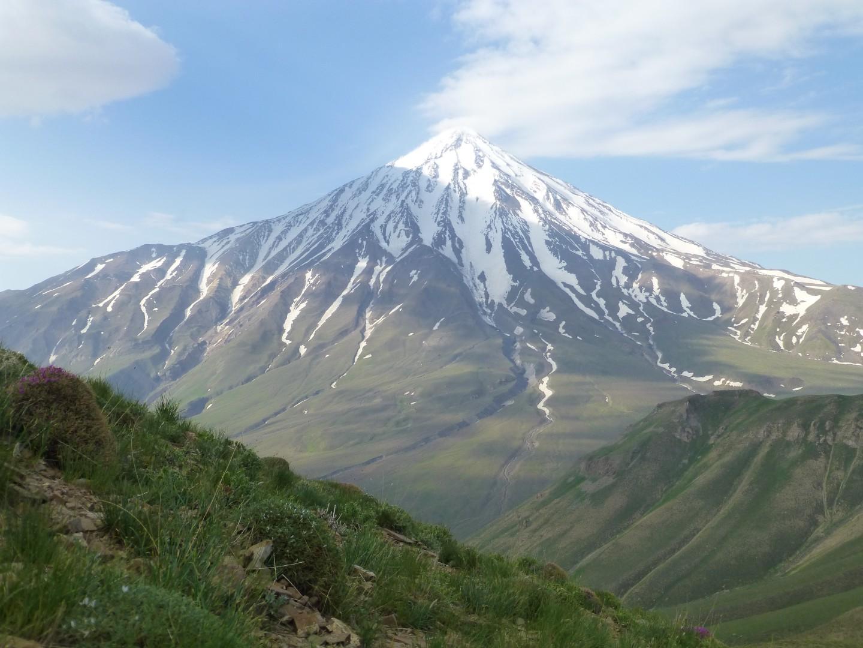 Der Vulkan Damavand, 5670 m