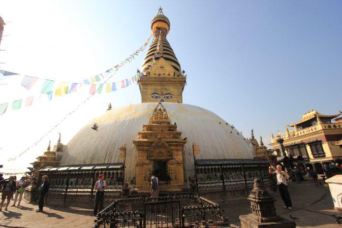 Stupa Swayambunath