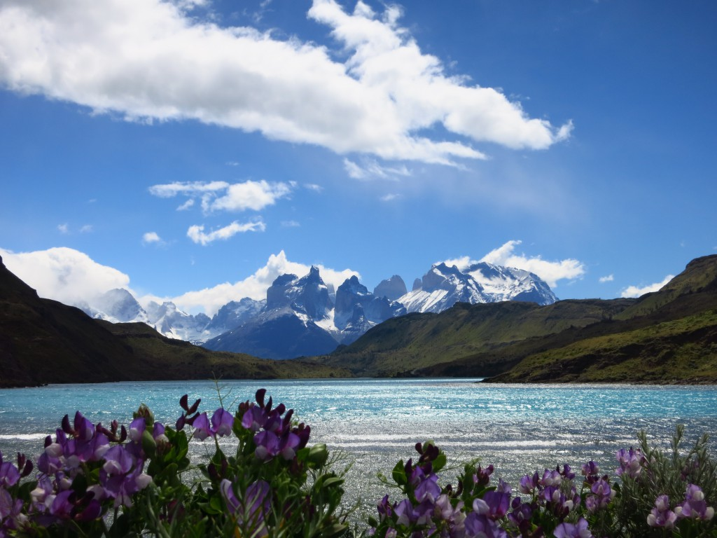Die Cuernos (Hörner) des Torres del Paine Massivs.